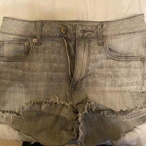 American Eagle shorts- charcoal